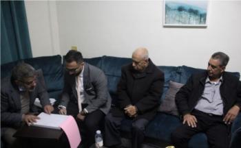 الزميل أحمد الضامن يعقد قرانه