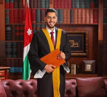 هاشم مازن قطيشات ..  مبارك
