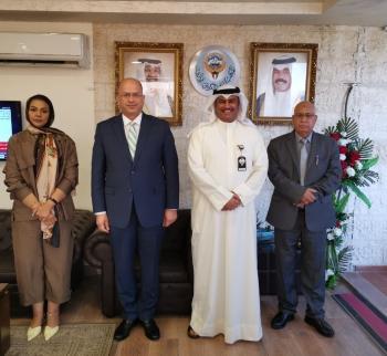 هيئة الاعتماد تبحث مع رئيس مجلس المستشارين الثقافيين العرب أوجه التعاون