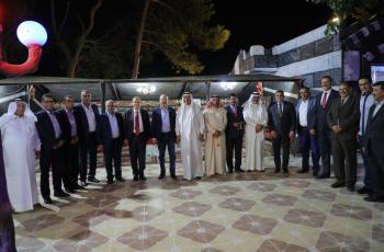 السفيران العراقي والسوري في ديوان الحديد