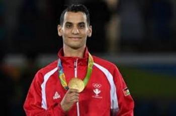 أبو غوش يحرز الميدالية الذهبية في بطولة الجائزة الكبرى للتايكواندو