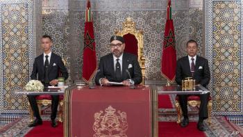 برقية من ملك المغرب إلى الرئيس الجزائري في المناسبة الأليمة