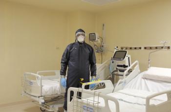 الصحة: وضع أسرة العزل والعناية الحثيثة الخاصة بمرضى كورونا جيد جدا