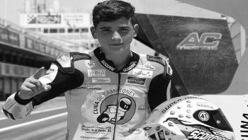 حادث مأساوي يتسبب بوفاة مراهق إسباني في سباق للدراجات النارية