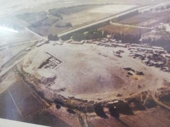 تل دير علا موقع اثري يكشف جمال سهول الاغوار الوسطى