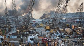 بدء توزيع المساعدات لترميم أضرار انفجار مرفأ بيروت