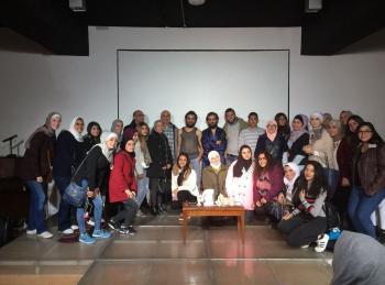 اللغات الحديثة بجامعة البترا يشارك باحتفالات أسبوع الفرنكوفونية