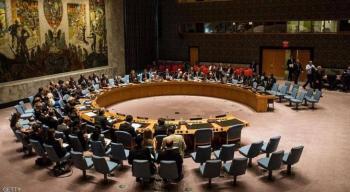 مجلس الأمن يناقش الاربعاء مشروع الضم