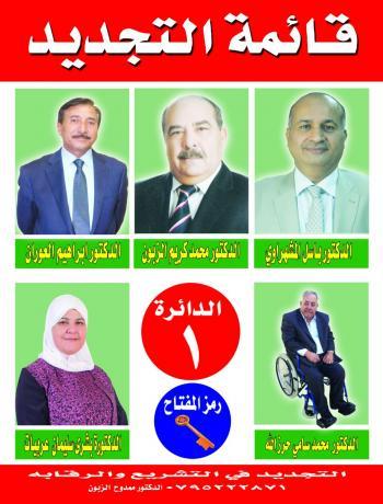 الدكتور محمد الزبون في عمان الاولى