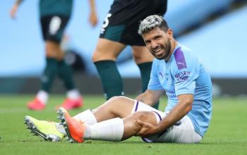 مانشستر سيتي يعلن تفاصيل إصابة أغويرو