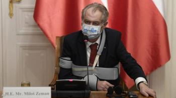 مسؤول: رئيس التشيك غير قادر على أداء مهامه لأسباب صحية