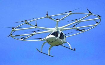 التاكسي الطائر يدخل الخدمة في مطار روما عام 2024