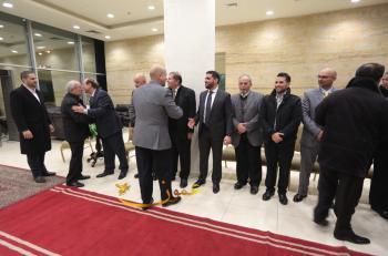 د. مؤمن الحديدي يولم بزفاف نجله باسل