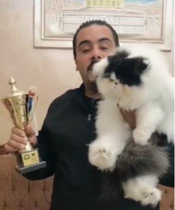 ليزا تفوز بأول مسابقة لملكة جمال القطط في الأردن