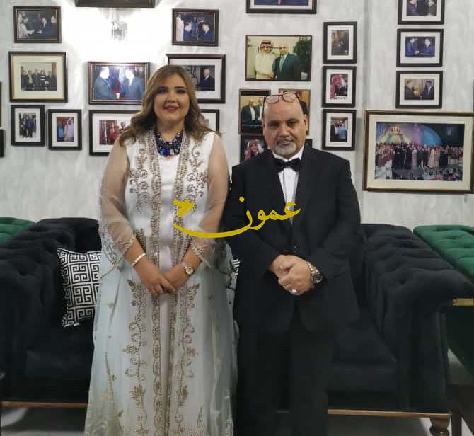 اشهار زواج المنتج المجالي من الدكتورة الزغل