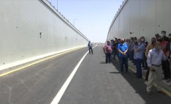 افتتاح مشروع شارع الشريف ناصر بن جميل وشارع الكندي