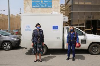 الأردن يتسلم 20 وحدة تبريد من الصحة العالمية