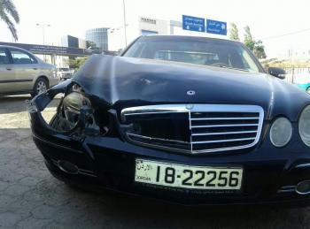 صبرة يتعرض لحادث سير (صور)