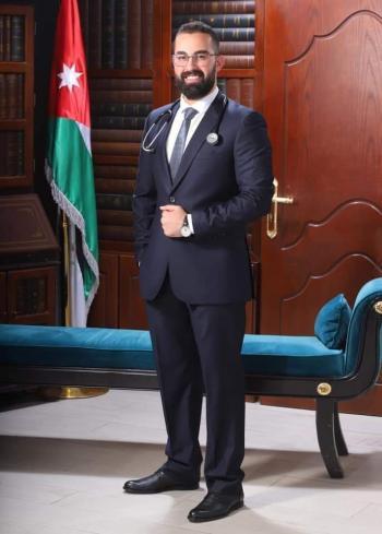 الدكتور إيهاب فارس الخرابشة ..  مبارك
