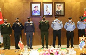 اتفاقية لضم جناح الأمن العام الجوي لسلاح الجو الملكي