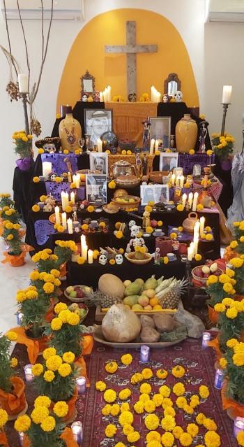 السفارة المكسيكية في عمّان تحيي  عيد الموتى