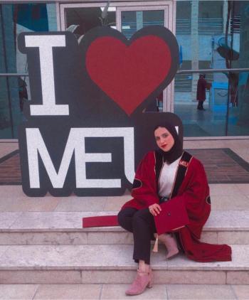 انسام عايد وليدات ..  مبارك التخرج