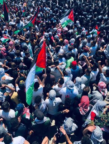 الوطني لحقوق الإنسان يدعو للإفراج عن مشاركين في احتجاجات القدس