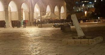 الاحتلال يمنع الطواقم الطبية من إسعاف مصابين في القدس