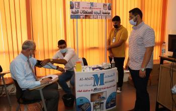 عمان العربية تقيم يوماً لتقييم قدرات ذوي الاحتياجات الخاصة وفحص النظر لمنتسبيها