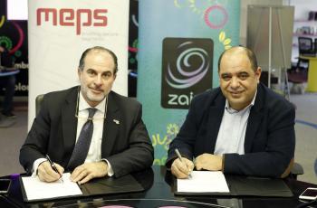 شراكة بين زين كاش والشرق الأوسط لخدمات الدفع