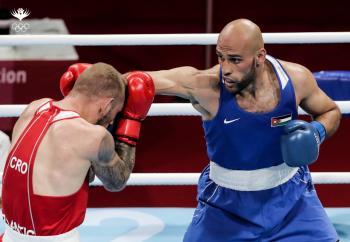الهنداوي والكسبة يودعان أولمبياد طوكيو