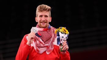 الاتحاد العربي للتايكواندو يهنئ الأردن بفضية أولمبياد طوكيو