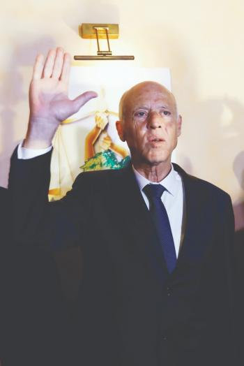 الرئاسة التونسية تنفي تأسيس الرئيس سعيد حزباً جديداً