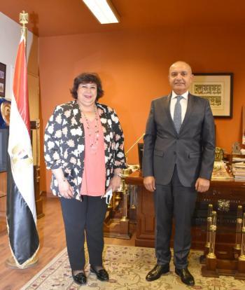 العضايلة: نتطلع لتعزيز التعاون الثقافي مع مصر