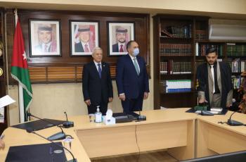 51 محاميا يؤدون اليمين القانونية أمام وزير العدل