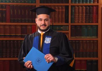 اسامة النعيمات ..  مبارك التخرج