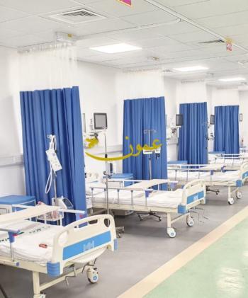 مستشفى اربد الميداني يبدأ باستقبال المرضى ويدخل 35 مصابا