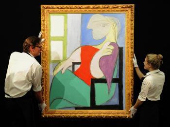 بيع لوحة لبيكاسو مقابل 103 ملايين دولار