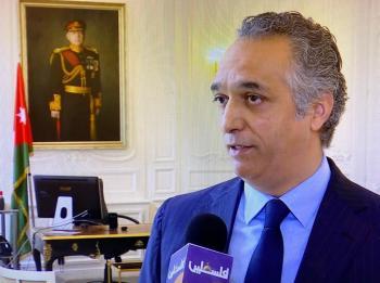 السفير القيسي: القدس تتربع على سلم أولويات الملك