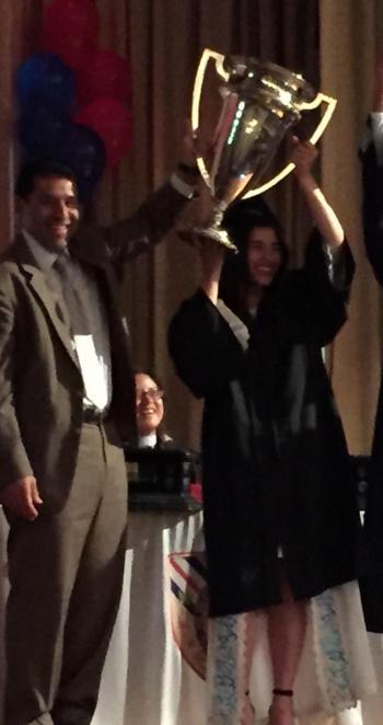 الاردنية سارة طوقان تحصد جائزة رئيس جامعة تورنتو في كندا