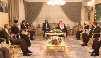 الحاضرون للقاء ولي العهد في دارة الشيخ أحمد العتوم (اسماء)