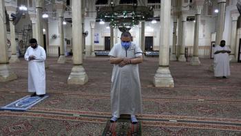 فتح المساجد في مصر لأول مرة بعد كورونا (صور)