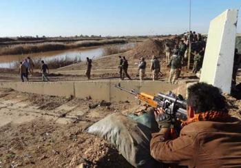 داعش يسيطر على شرطة الرطبة