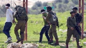 الاحتلال الاسرائيلي يعتقل 16 فلسطينيا