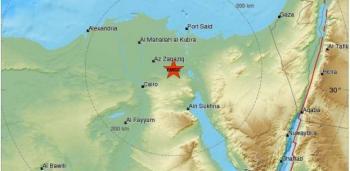 هزة ارضية تضرب القاهرة