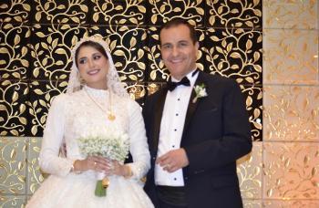 الدكتور محمد الشناق والمهندسة رغد المراشدة ..  مبارك الزفاف