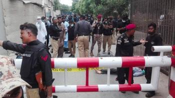 هجوم على بورصة كراتشي ومقتل 4 مسلحين