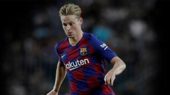 برشلونة يكشف تفاصيل إصابة دي يونغ
