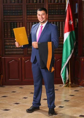 طارق قطيشات ..  مبارك التخرج