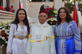السفارة المغربية تحتفي بتولي الملك